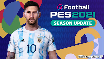 PES 2021 Lionel Messi Copa America 2021 by Valentinlgs10