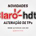 CLARO HDTV Mudança nas TPs de canais Star One C2/C4 70w - 30/03/2021