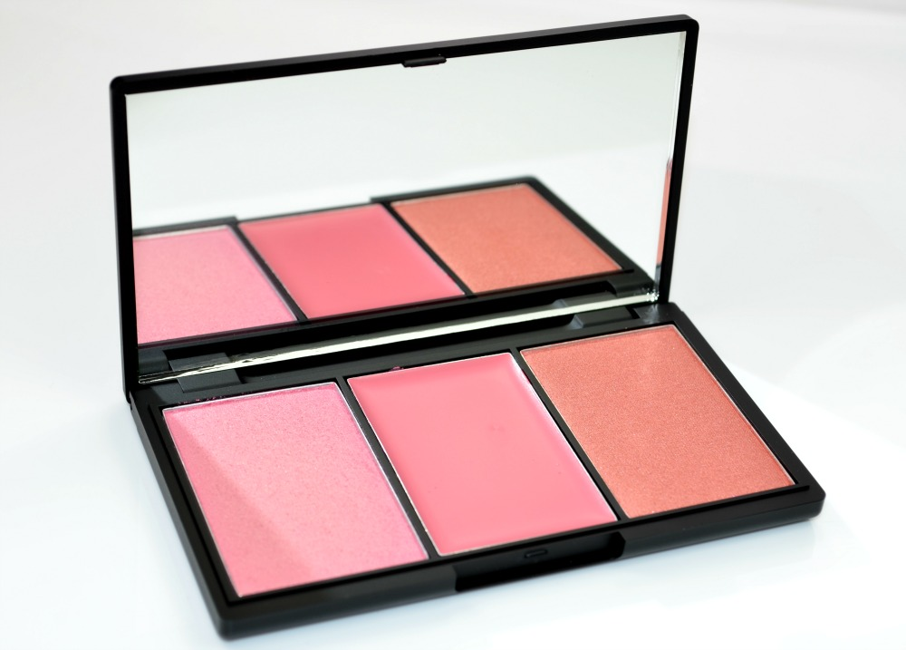Sleek Pink Lemonade Blush by 3 Blush Palette Review / Swatches