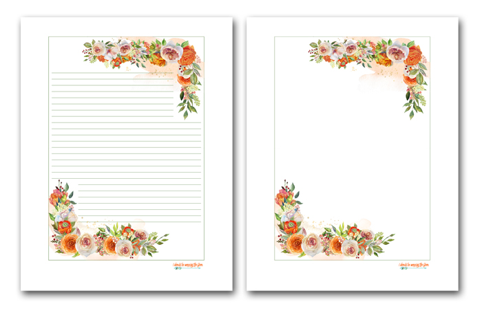 Free Stationery Printables