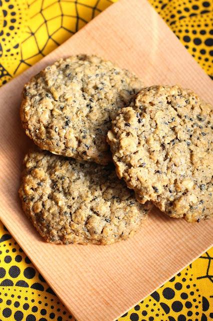 cookies sesame noir