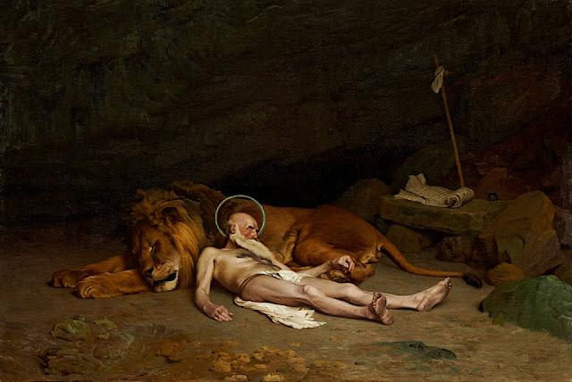 Jean-Léon Gérôme: San Girolamo e il leone