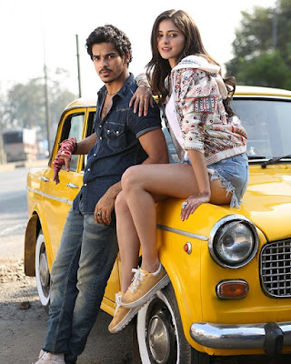Ananya panday and Ishaan Khatter in film Khaali Peeli