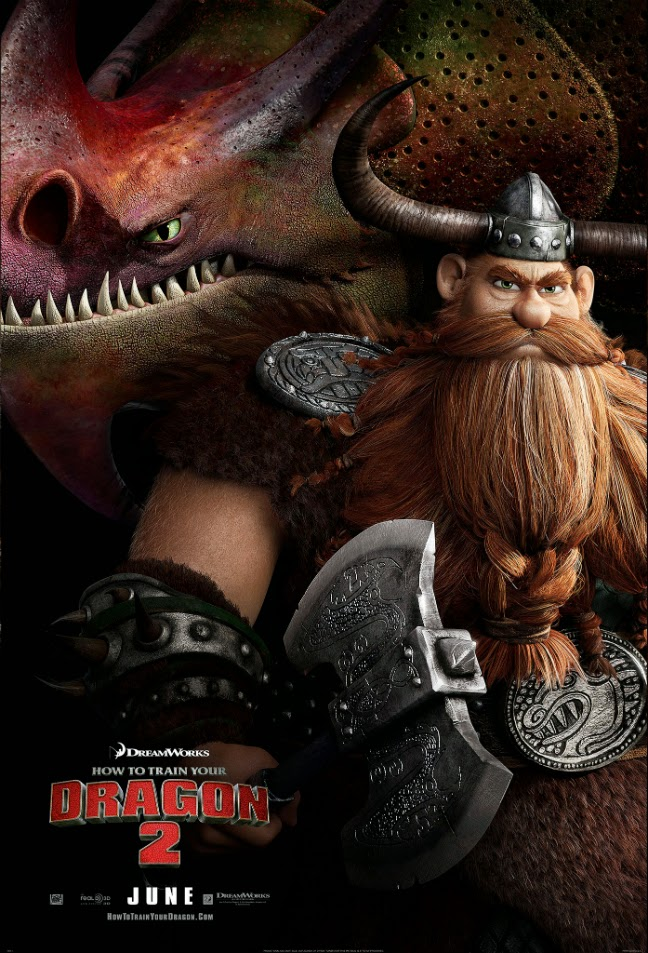 How To Train Your Dragon 2 Stoick the Vast and Skull Crusher