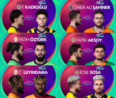 PES 2021 Turkey Süper Lig Facepack 9 by PES Football Turkey