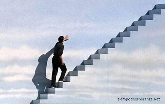 Subiendo la escalera del éxito
