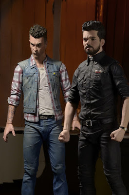Preacher Television Series Jesse Custer & Cassidy Action Figures by NECA