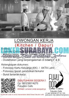 Loker Surabaya Terbaru di Fukudon Cafe Juni 2019