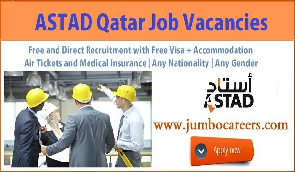 Show all job vacancies in Qatar, Current job offers in Doha Qatar,