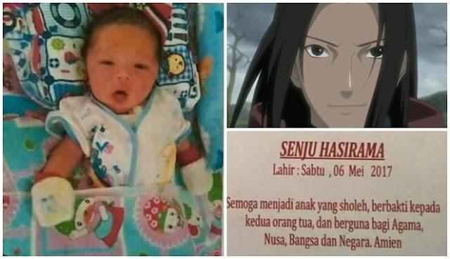 anak bernama hashirama