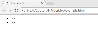 HTML-unordered-list-example-output