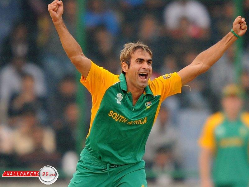 The Cricket Games: Imran Tahir Latest Free Wallpapers And