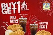 Promo KFC HUT BALIKPAPAN Beli 1 Dapat 1 Hanya Sehari Untuk Hari Ini