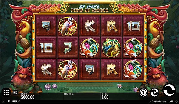 Main Gratis Slot Indonesia - Jin Chan's Pond of Riches (Thunderkick)