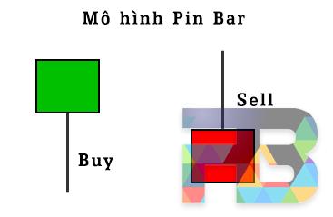 Mô hình nến Pin Bar (Pin Bar Pattern)