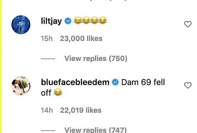 TJay Lil Durk Instagram Twitter diss