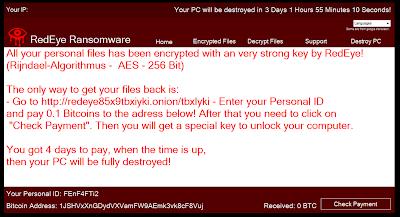 RedEye ransomware: hay más de lo que parece Capture