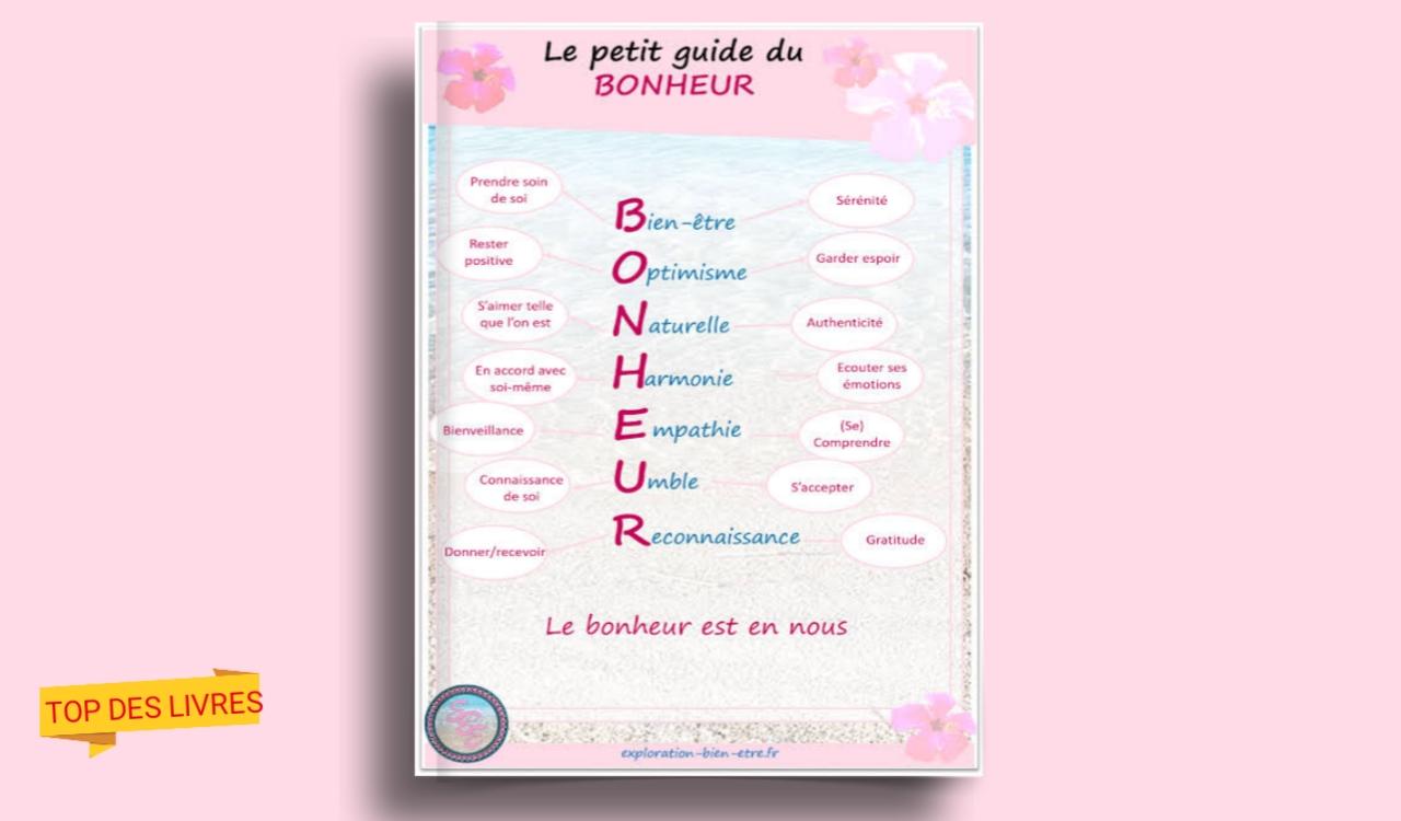 Télécharger : Le petit guide spirituel du bonheur en pdf