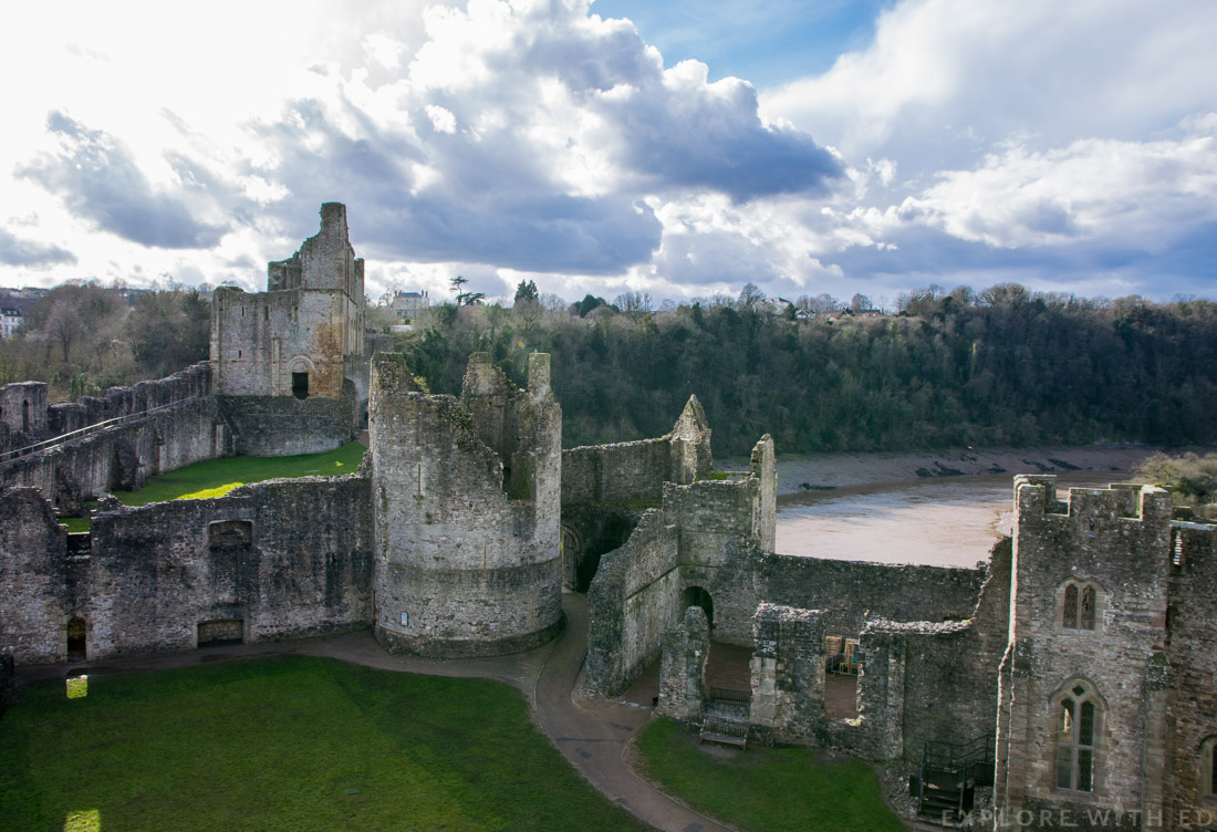 Chepstow Castle views