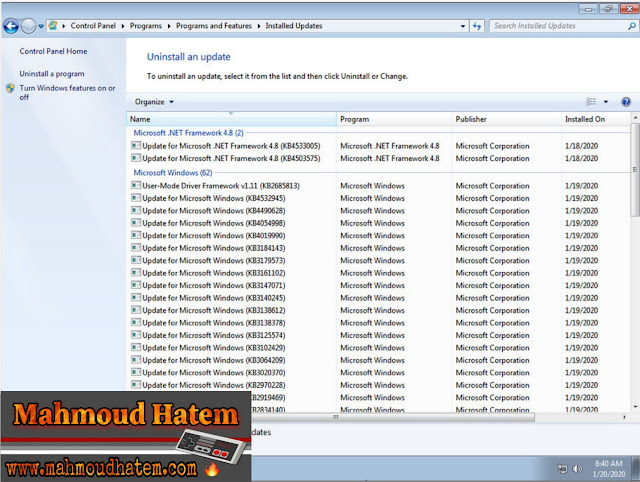windows 7 | جميع اصدارات ويندوز 7 في نسخه واحدة تحديث يناير 2020