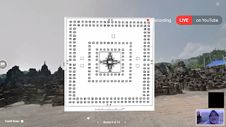 Denah candi sewu virtual tour digitiket