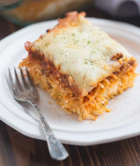 MILLION DOLLAR SPAGHETTI #healthydinner #food #easy #spaghetti #recipes