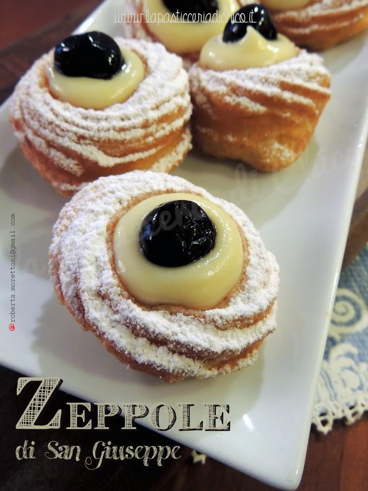 Zeppole di San Giuseppe - lapasticceriadichico