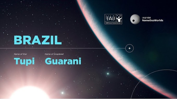 Brasileiros batizam estrela e planeta de Tupi e Guarani