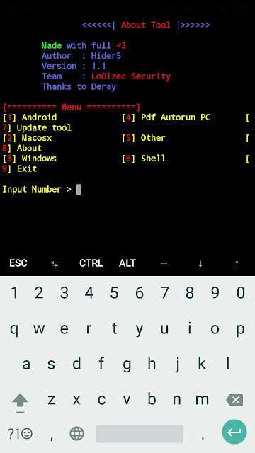 How to create Virus on Andriod termux without Root