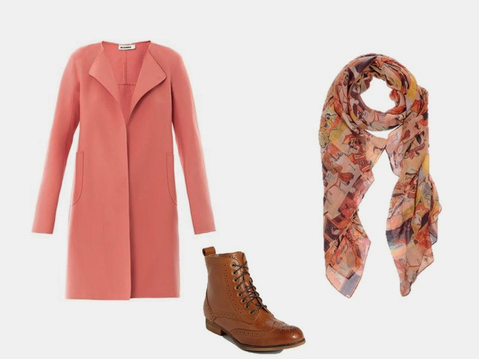 How to build a capsule wardrobe from scratch - step 11 - a winter coat, boots, and scarf