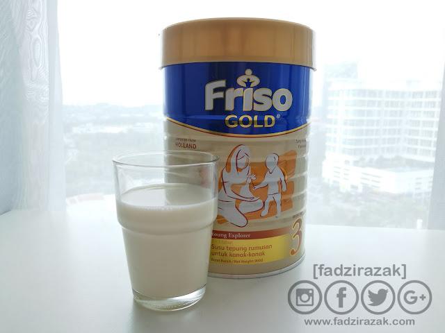 Friso Gold 3 Dengan Teknologi LocNutri