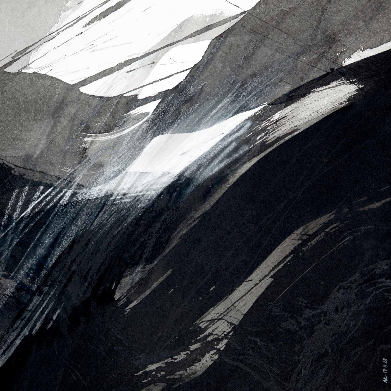 Encre de Chine lavis et crayon sur Arches © Annik Reymond