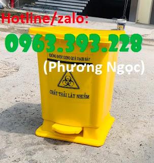 Thùng rác y tế đạp chân, thùng đựng rác y tế, thùng đựng rác thải bệnh viện D0dd35f9b9615f3f0670