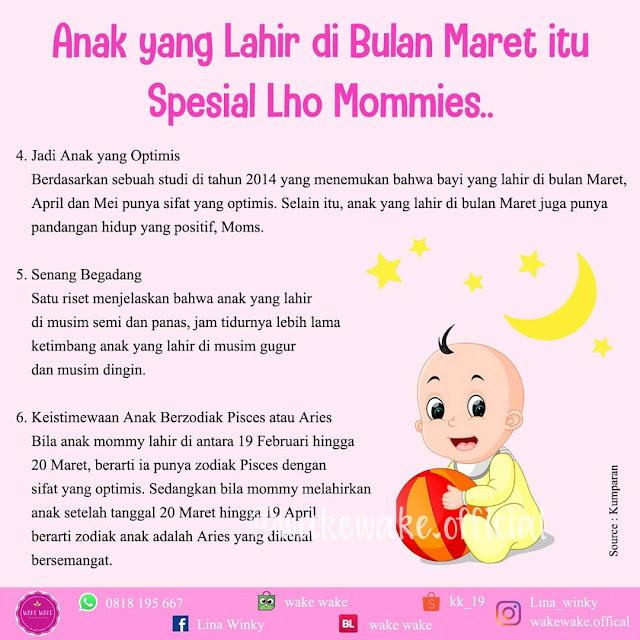 Sifat Anak yang Lahir di Bulan Maret