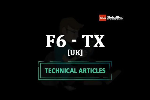 F6 - (TX-UK) - FA2020 | ALL in One Technical Articles - UPTO March 2022