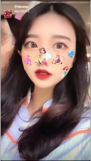 Filter Princess instagram | Cara dapatkan princess filter instagram