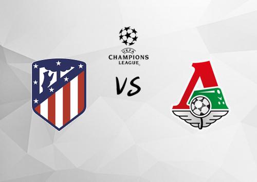 Atlético Madrid vs Lokomotiv Moscú  Resumen