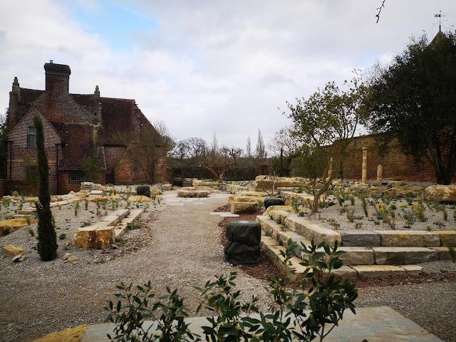 The new Delos garden