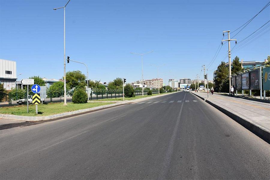 Diyarbakır Sento Caddesi modern hale getirildi
