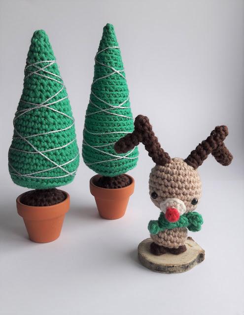 tuto renne rudoplh amigurumi noel etsy crochet
