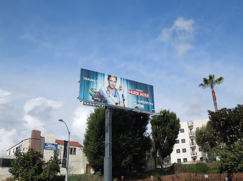 Nurse Jackie season 5 billboard