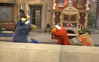 Elmo goes to join Monster Art Show. Elmo meets Honker. Sesame Street The Best of Elmo