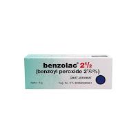 BENZOLAC 2.5% GEL 5 G