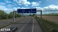 ets 2 realistic signs v1.1 screenshots 6