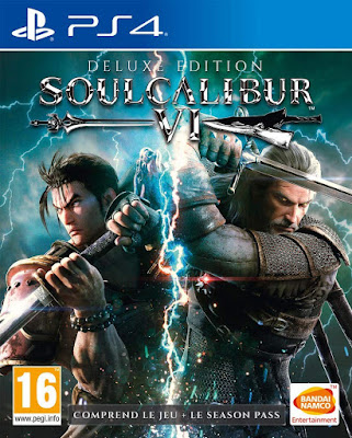 Soulcalibur 6 Game Cover Ps4 Deluxe Edition