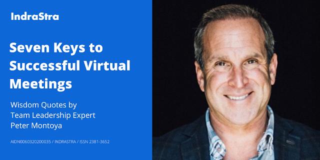 Seven Keys to Successful Virtual Meetings