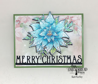 Our Daily Bread Designs Stamp/Die Duos: Merry Christmas, Paper Collection: Christmas 2018, Custom Dies: Merry Christmas Border, Pierced Rectangles