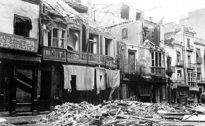 BOMBARDEO DE ALMERIA, 31 de mayo de 1937
