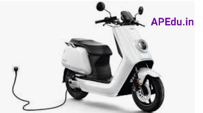 Electric scooters on loan to government employees