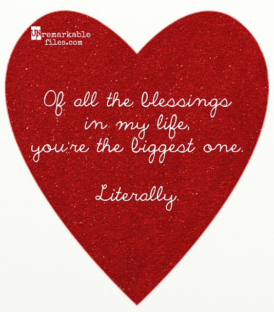 Pregnancy is miraculous, life-changing, and a little bit weird. These funny valentines say it all.  {posted @ Unremarkable Files}